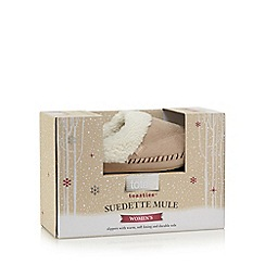 Totes - Suedette mule in natural