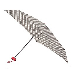 Isotoner - Butterfly print umbrella