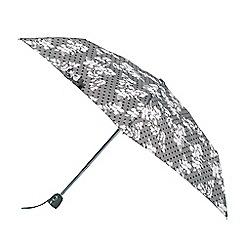 Isotoner - Tapestry floral print umbrella