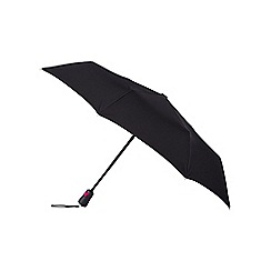 Isotoner - Black xtra strong umbrella