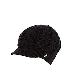 Star by Julien Macdonald - Black cable knitted cap