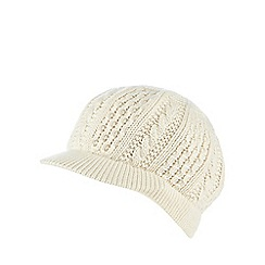 Star by Julien Macdonald - Cream cable knitted cap