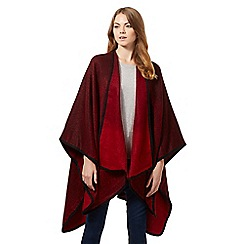 Principles by Ben de Lisi - Red two tone wrap