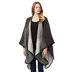 Principles by Ben de Lisi - Grey two tone wrap