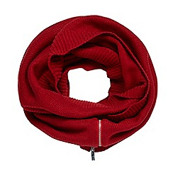 Star by Julien Macdonald - Red knitted snood