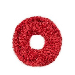 Star by Julien Macdonald - Red bobble snood