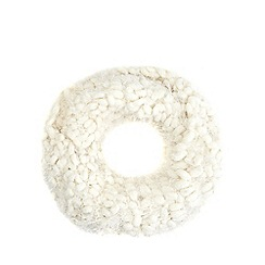 Star by Julien Macdonald - Ivory bobble snood