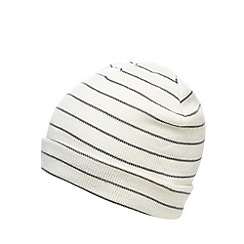 Iris & Edie - Grey striped beanie
