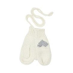 Iris & Edie - Cream heart gloves