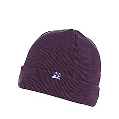 H! by Henry Holland - Purple 'boyfriend' beanie hat