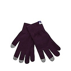 H! by Henry Holland - Purple touchscreen gloves