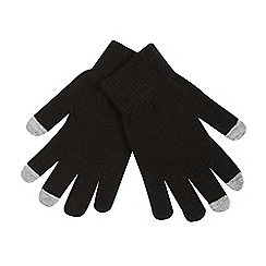H! by Henry Holland - Black touchscreen gloves