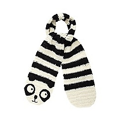H! by Henry Holland - Cream panda scarf