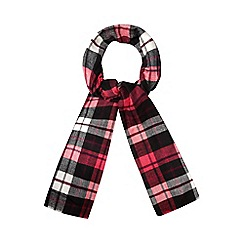 H! by Henry Holland - Pink tartan check scarf