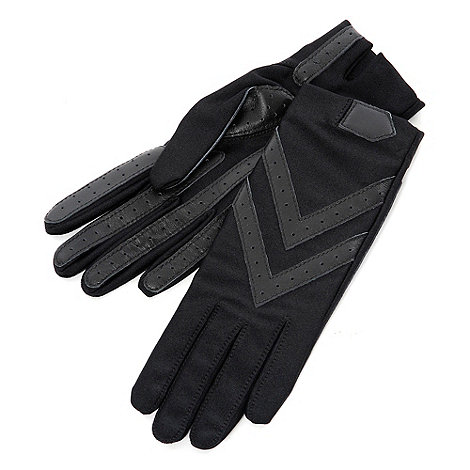 Isotoner - Black original +isotoner+ gloves