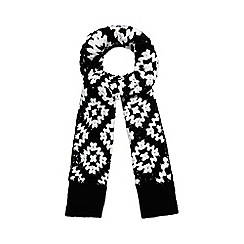 H! by Henry Holland - Black crochet scarf