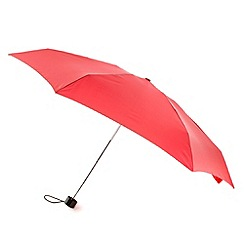 Totes - Red five section umbrella