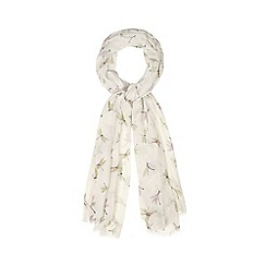 Mantaray - Cream dragonflies scarf