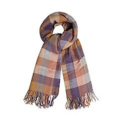 Mantaray - Multi check scarf