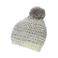 Mantaray - Grey ombre beanie hat