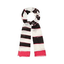 Red Herring - Pink striped scarf