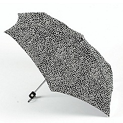 Totes - Silver dotted umbrella