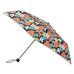 Isotoner - Multi-coloured floral supermini umbrella