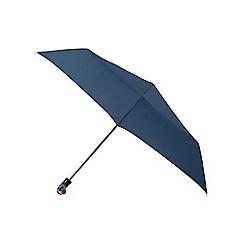 Isotoner - Navy duck handle supermini umbrella