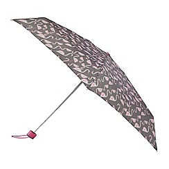 Isotoner - Flamingo print supermini umbrella