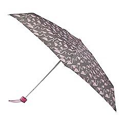 Isotoner - Flamingo print supermini umbrella