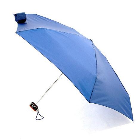 Totes - Blue 6 section umbrella