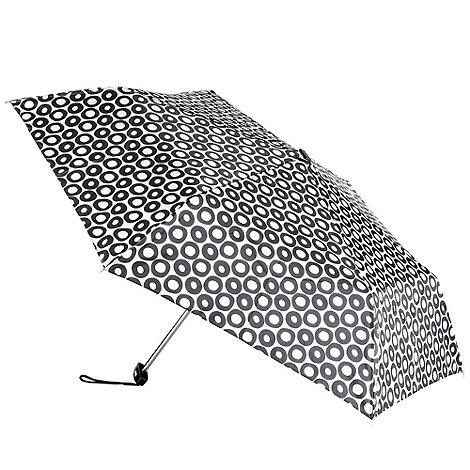 Totes - Cream hoop patterned umbrella