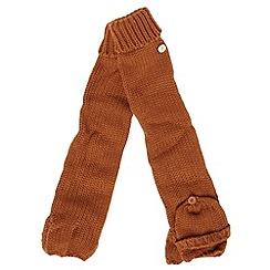 J by Jasper Conran - Tan knitted longline mittens