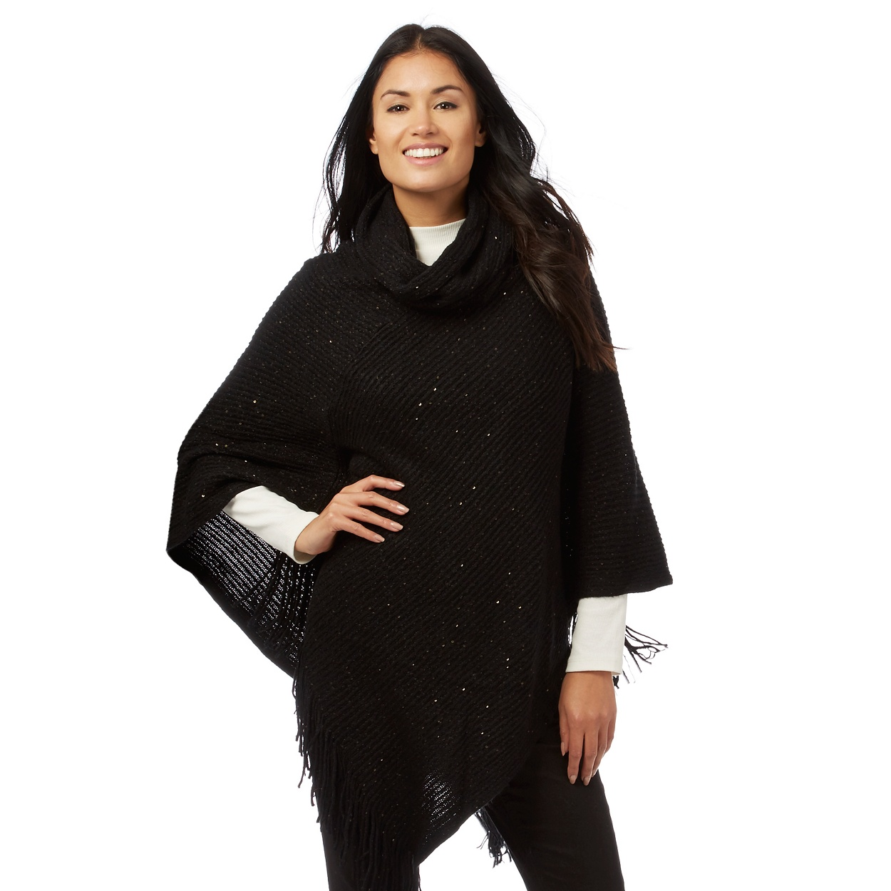 Wallis Black Short Faux Fur Coat - Tradingbasis