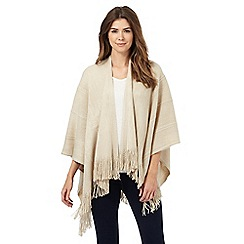 The Collection - Beige knitted wrap