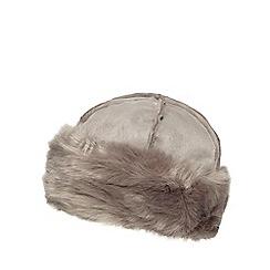 RJR.John Rocha - Grey faux fur cossack hat