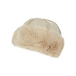 RJR.John Rocha - Cream faux fur cossack hat