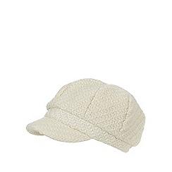 RJR.John Rocha - Cream chunky knit cap