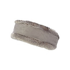RJR.John Rocha - Grey faux sheepskin headband