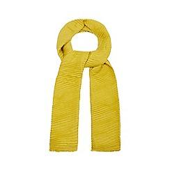 RJR.John Rocha - Green plisse scarf