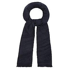RJR.John Rocha - Navy plisse scarf
