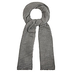 RJR.John Rocha - Grey plisse scarf