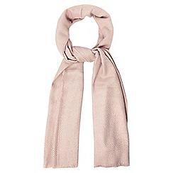 RJR.John Rocha - Pink diamond weave scarf