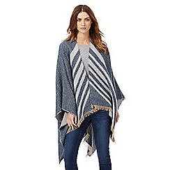Nine by Savannah Miller - Blue chevron print wrap