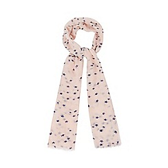 Red Herring - Pink cat print scarf