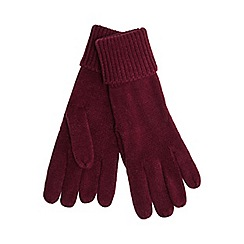 Red Herring - Red knitted gloves