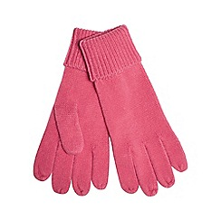 Red Herring - Pink knitted gloves