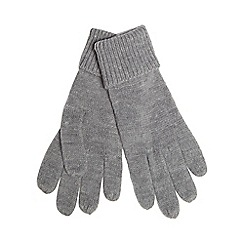 Red Herring - Grey knitted gloves