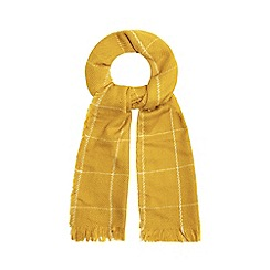 Red Herring - Yellow checked scarf