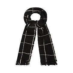 Red Herring - Black checked scarf